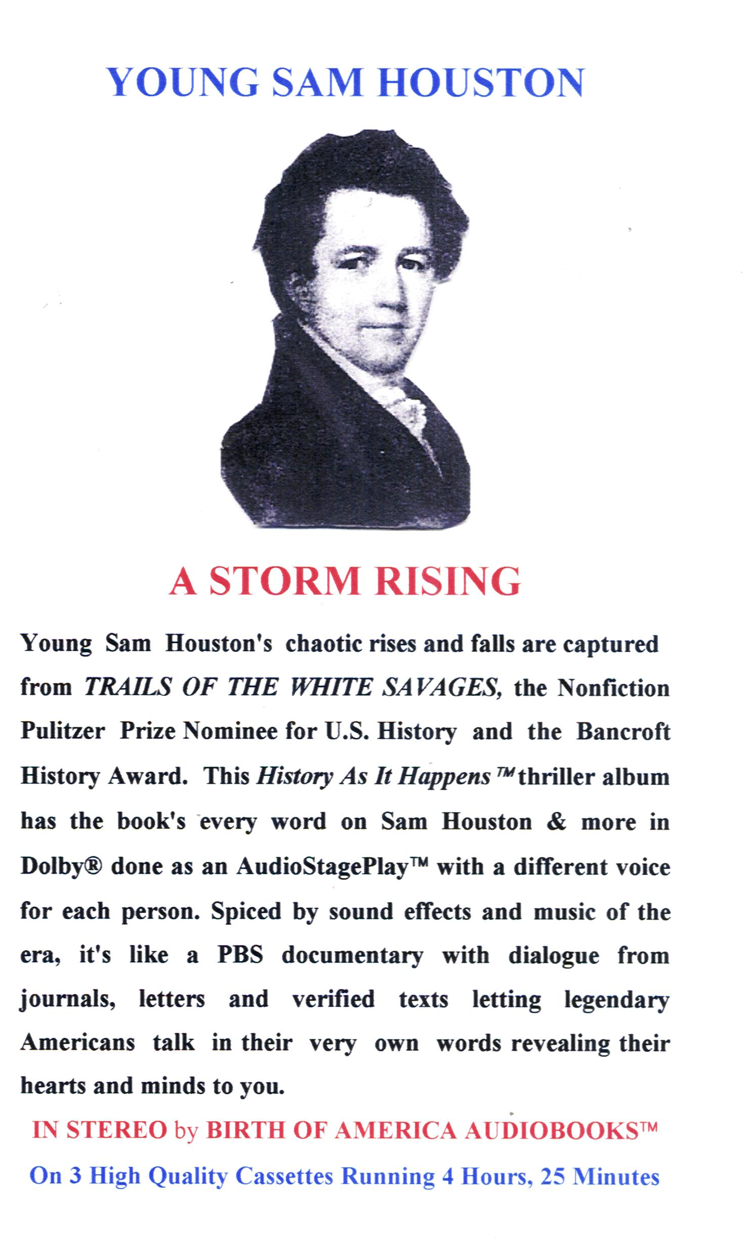 a biography of samuel houston the greatest texan that ever lived Sam houston had already served in the us house of representatives and as  governor  sam houston died in 1863 in huntsville, texas, where a 67-foot-tall.